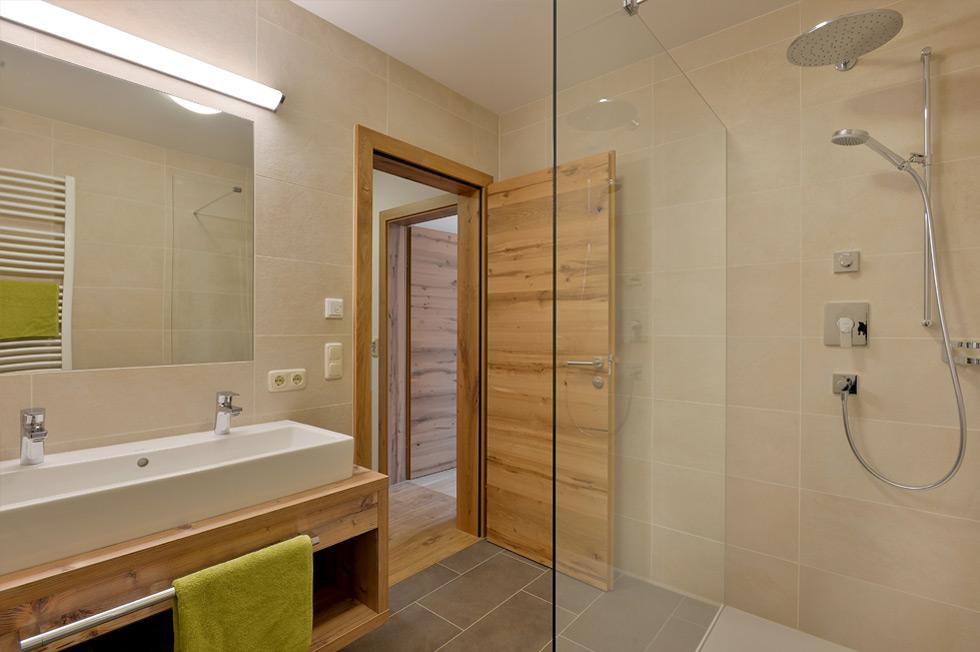 Appartement-Ellmau-Badezimmer